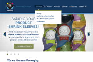 Hammer Packaging – Home Page