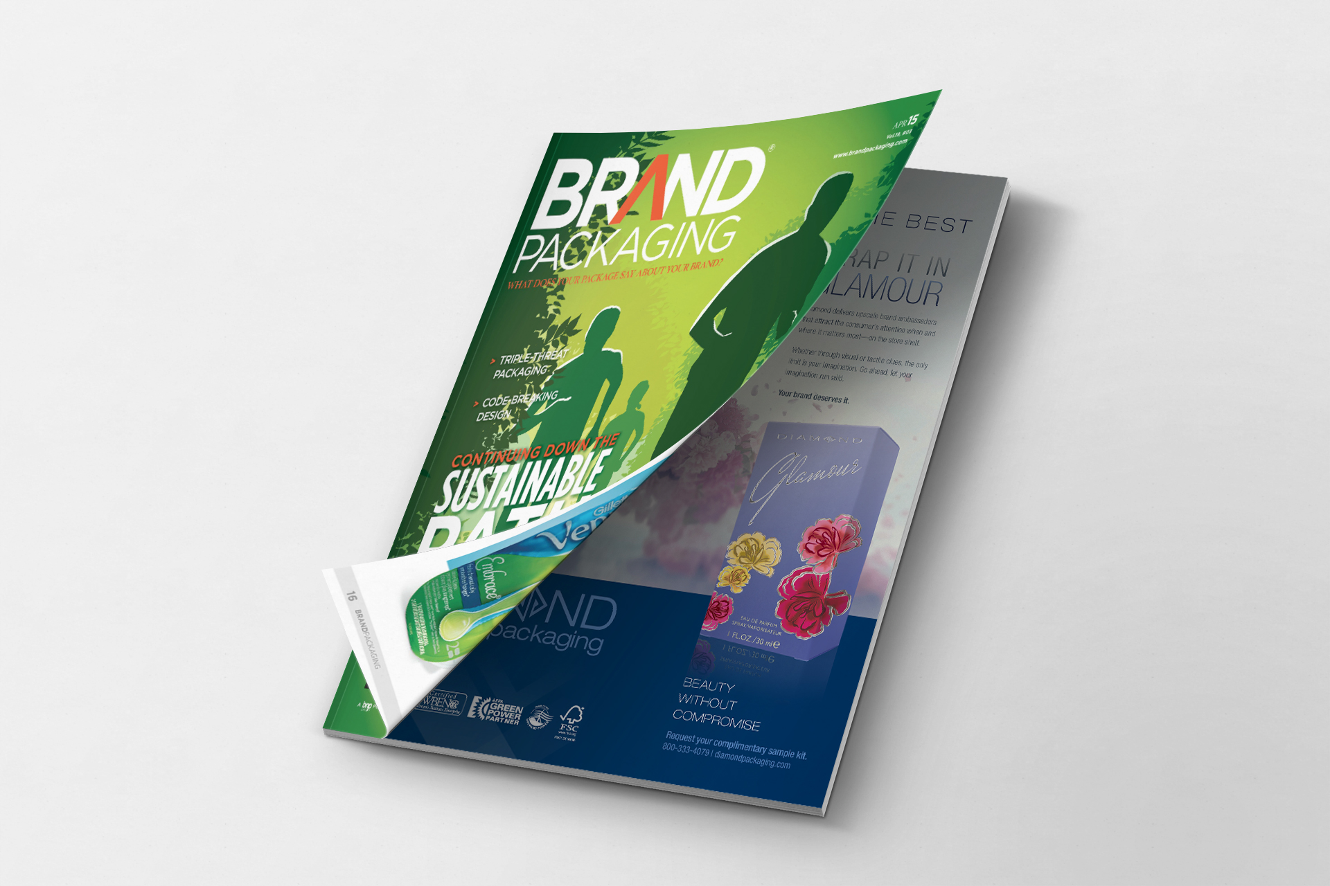 Brand Packaging Magazine Cover