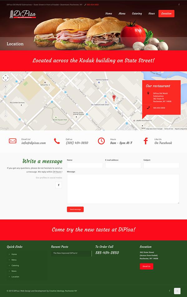 Dipisa Website Location Page