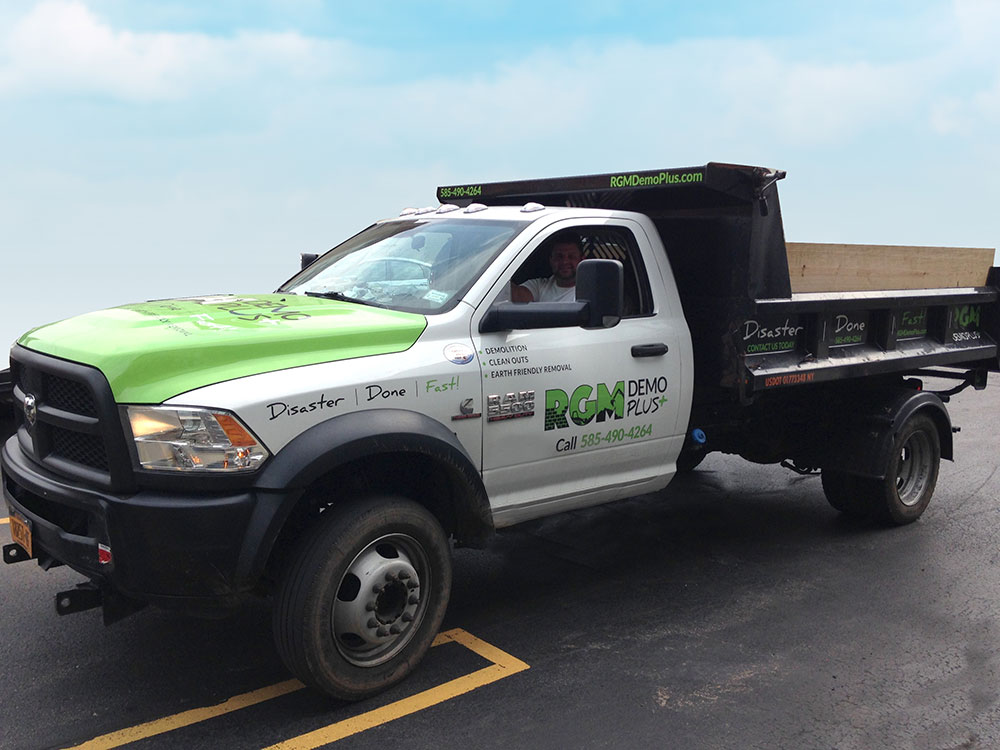 Truck graphics design