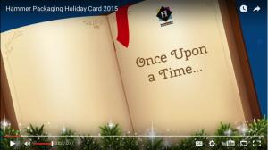 hammer animated christmas card
