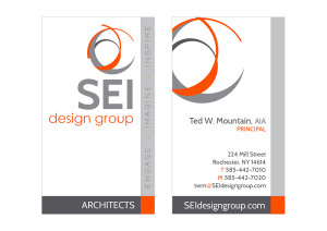 SEI Business Card Front and back