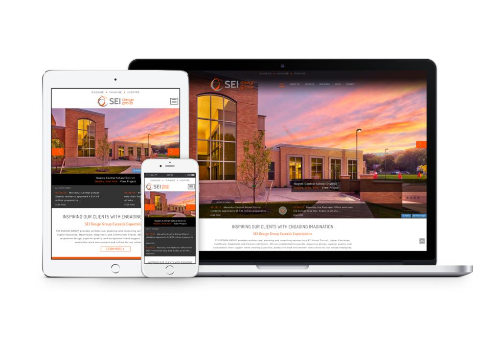 SEI Design Group responsive web design